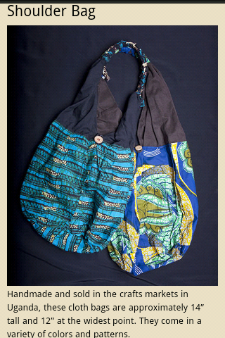Shoulder bags available from the store