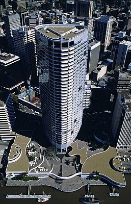 Riverside Centre Brisbane. Photo: John Gollings. © Harry Seidler & Associates