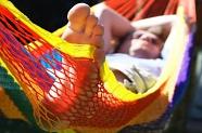 """wet in a hammock"""" title=""""wet in a hammock"""